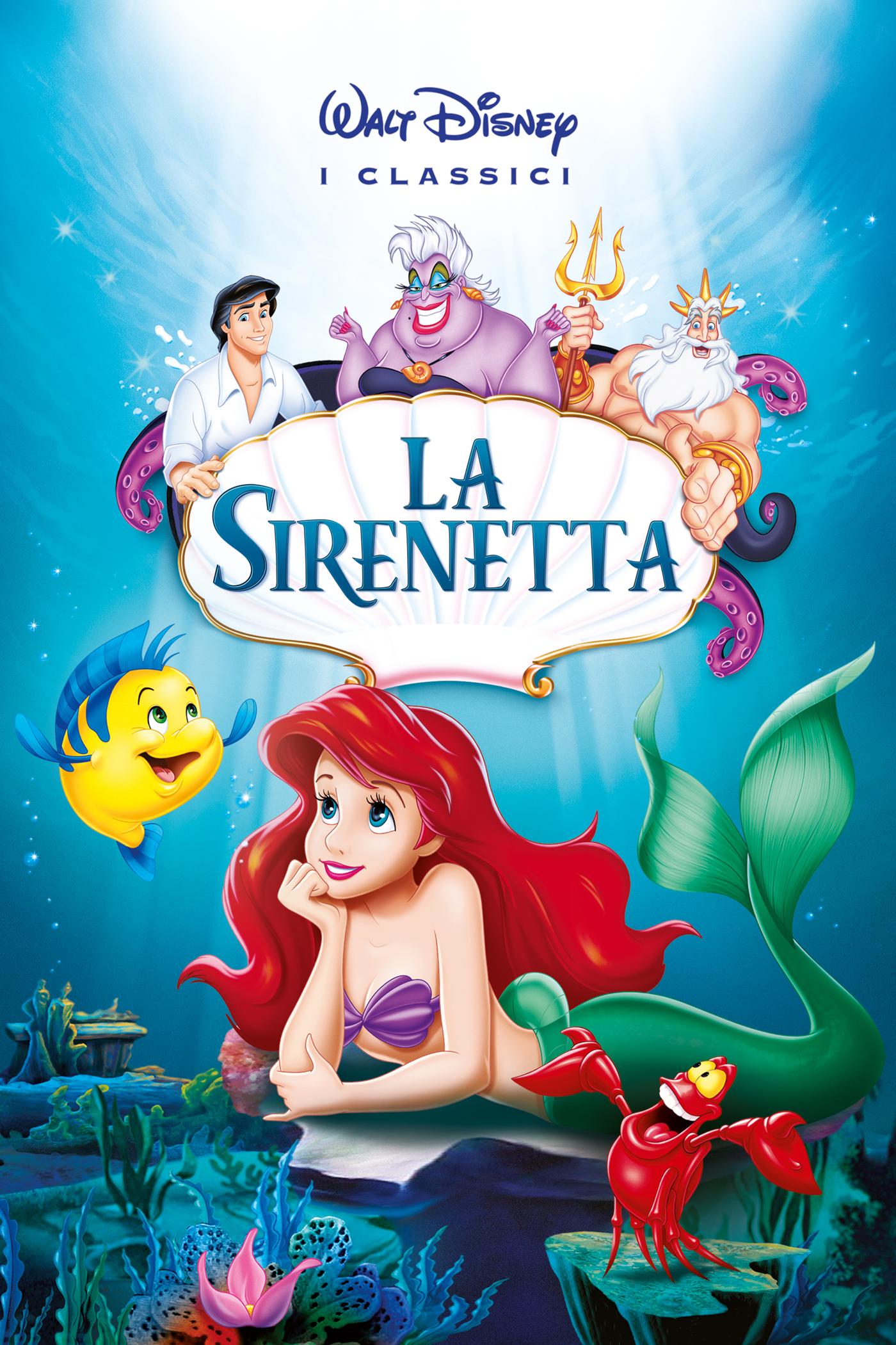 La sirenetta colonna sonora le canzoni dei cartoni animati