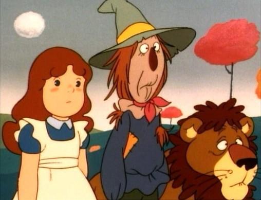 Il mago di oz sigla completa le canzoni dei cartoni animati - Casetta di cartone da colorare ...